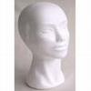 Styropor hoofd vrouw korte hals