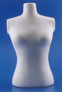 Styropor Torso volle vorm  30 cm
