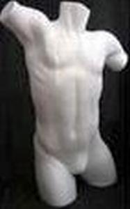 Styropor Torso volle vorm groot Man art. 82303B