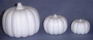 Styropor pompoen 11 cm