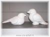 Vogel zittend 9x18cm VIT142