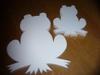 Snijvorm Kikker klein 25 x 3cm