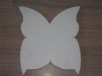 Vlinder snijvorm mini, 14 x 15,5cm  3 cm