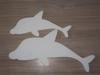 Snijvorm Dolfijn 50x30x3cm