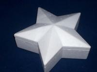 Styropor doosje Ster 20cm art. 1996007