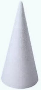 Styropor kegel 40cm stevige kwaliteit