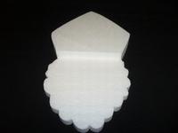 Styropor snijvorm Sinterklaas groot 35cm (3cm dik)