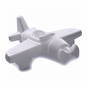 Styropor Vliegtuig