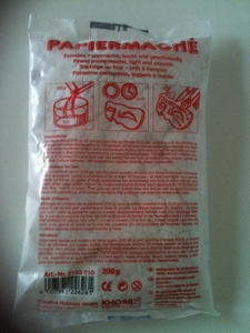 Papier Mache poeder kleinverpakking art.2153010