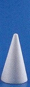 Styropor kegel  8cm stevige kwaliteit  8 cm