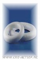 Ring half plat 07,5 cm stevige kwaliteit