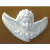 Kerst engel kopje 12 cm