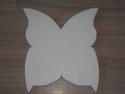 Snijvorm Vlinder middel, ca.25x26cm dikte 3cm