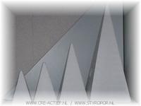 Styropor Piramide 45 x 18 x18cm**