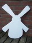 Styropor snijvorm Molen groot 48 x 37cm (3 cm dik)