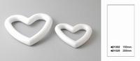 Styropor hart; open
