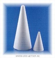 Styropor kegel 20cm stevige kwaliteit