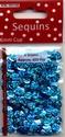 Pailletten facon 6mm Laser/Disco Turquoise 12212-1236  8 gram